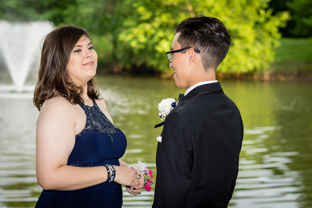 Prom pictures at UHCL on Bay Area
